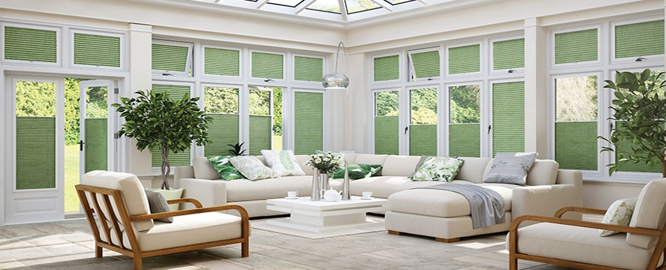 Conservatory blinds in Woodbridge